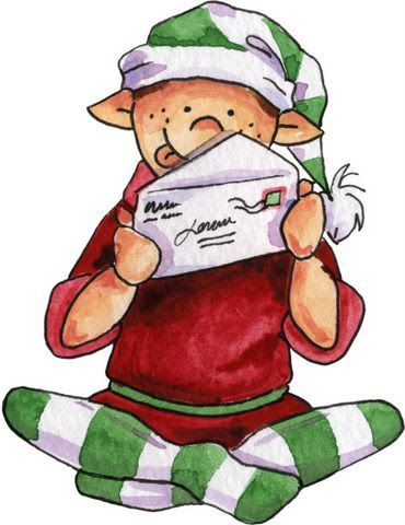 17 best images about painting inspiration elves on pinterest hard at work christmas elf and - Clipart weihnachtswichtel ...