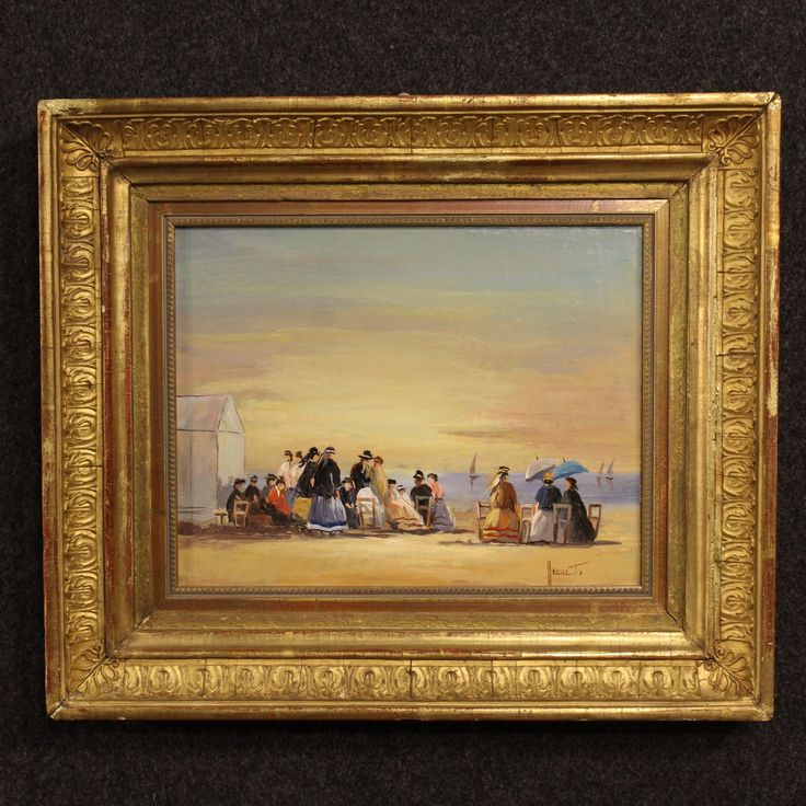 750€ Small French signed and dated painting oil on cardboard. Visit our website www.parino.it #antiques #antiquariato #painting #art #antiquities #antiquario #canvas #oiloncanvas #landscape #quadro #dipinto #arte #tela #decorative #interiordesign #homedecoration #antiqueshop #antiquestore