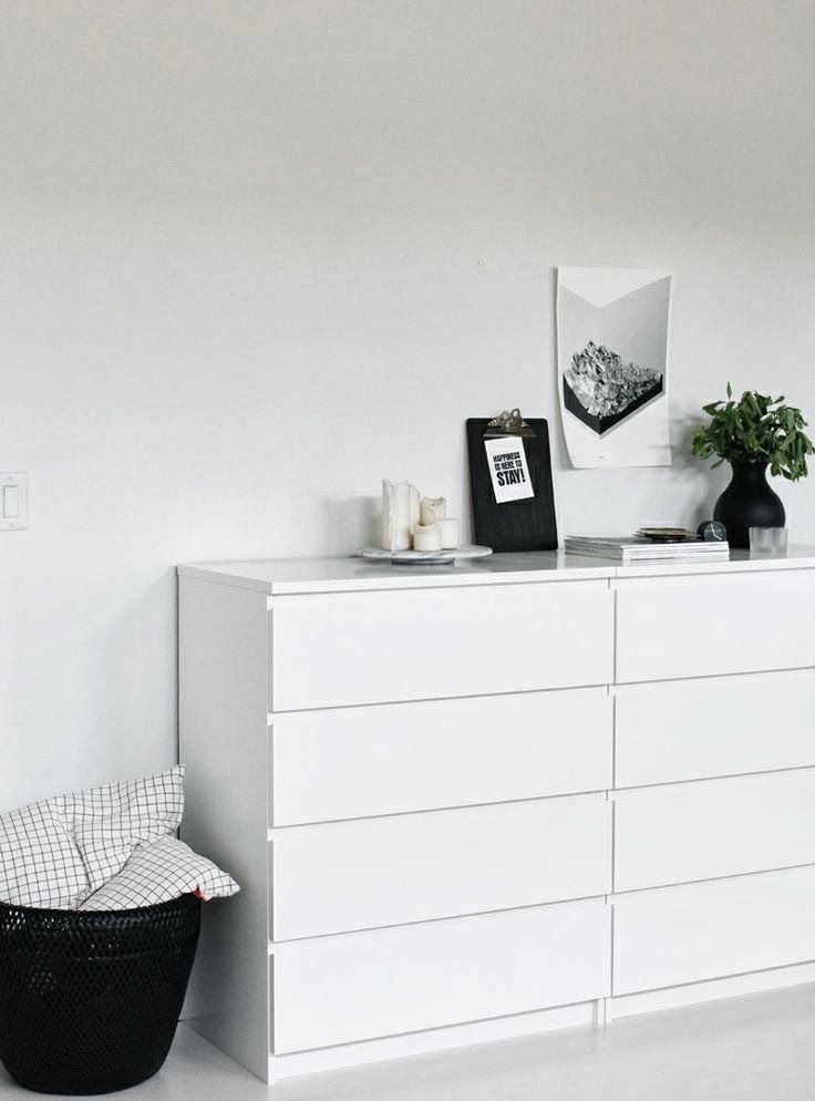 once.daily.chic: Ikea Malm in the Bedroom