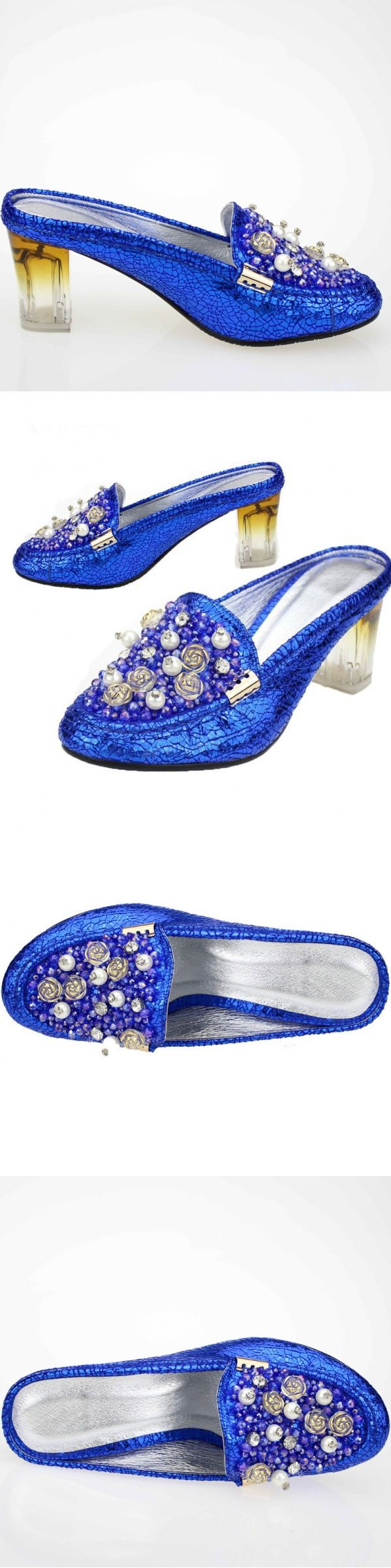 """Black Shoe Pumps Multi Colored Belly Dance Nude Slippers Jean Little Girl """"Dull…"""