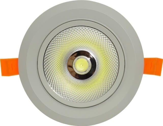 Fiind cel mai puternic spot reglabil cu reflector, SPOT COB LED 20W MOBIL CU REFLECTOR este disponibil in doua variante de culoare. Avand filtru antiorbire este unul dintre cele mai performante modele de spoturi existente pe piata.