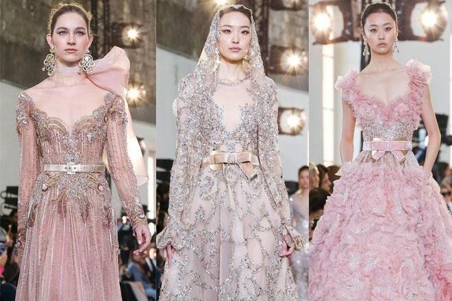 فساتين خطوبة لبنانية لعروس ربيع وصيف 2020 مجلة سيدتي أبدعت كثير من بيوت الأزياء العالمية هذا العام خلال أسبوع الموضة بباريس ل Fashion Formal Dresses Dresses