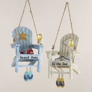 Beach Lounge Chair Christmas Ornaments Item #C8177  Relax and trans...