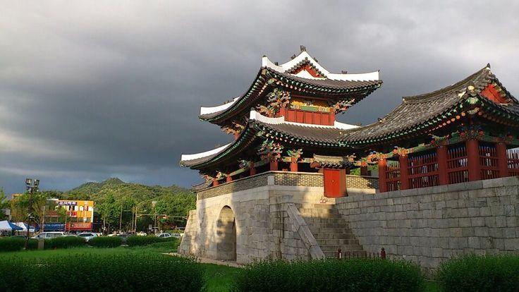 Jeonju, Korea 전주 풍남문