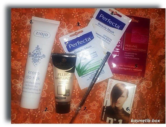 Kosmetik-Box: Moje dzisiejsze zakupy :)