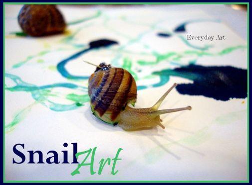 snail art...how cool!