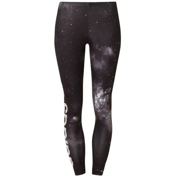 adidas Originals UNIVERSE Leggings (46 AUD) ❤ liked on Polyvore featuring pants, leggings, bottoms, jeans, 0 roupas, black, women's trousers, adidas originals, adidas originals pants and adidas originals leggings