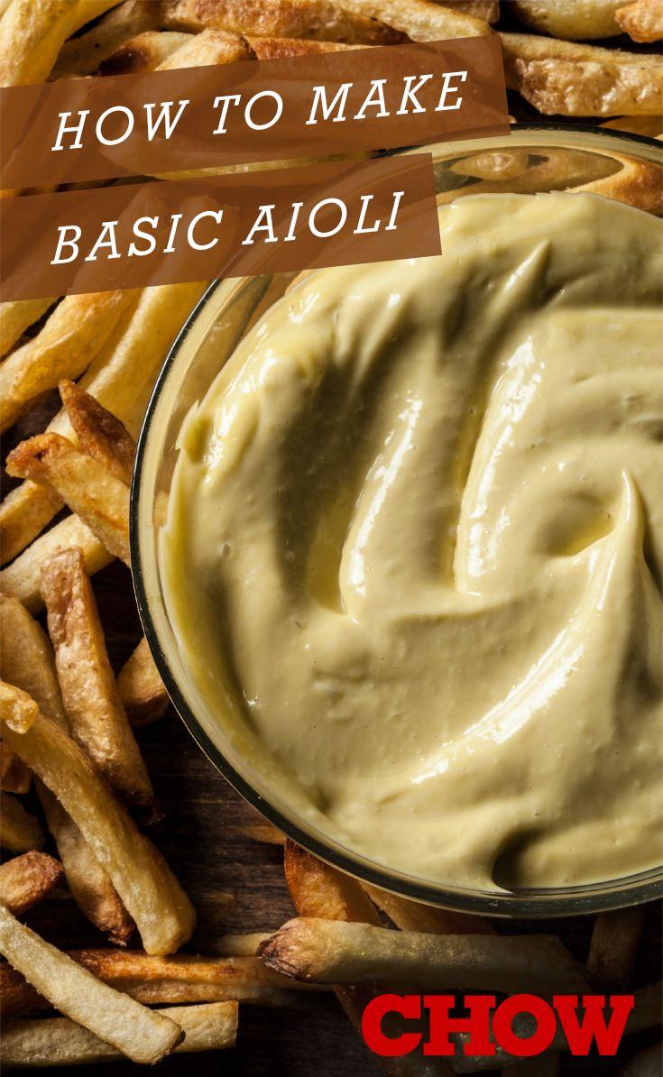 How to make basic aioli