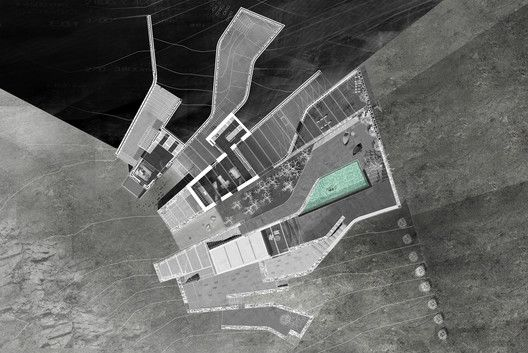 Vacation Residence at Lia,Ground Floor Plan