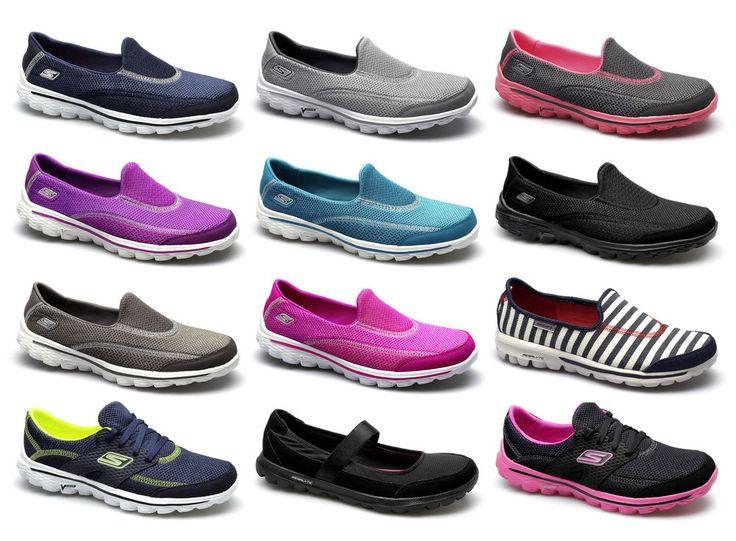 Ladies Waterproof Comfy Flex Shoes