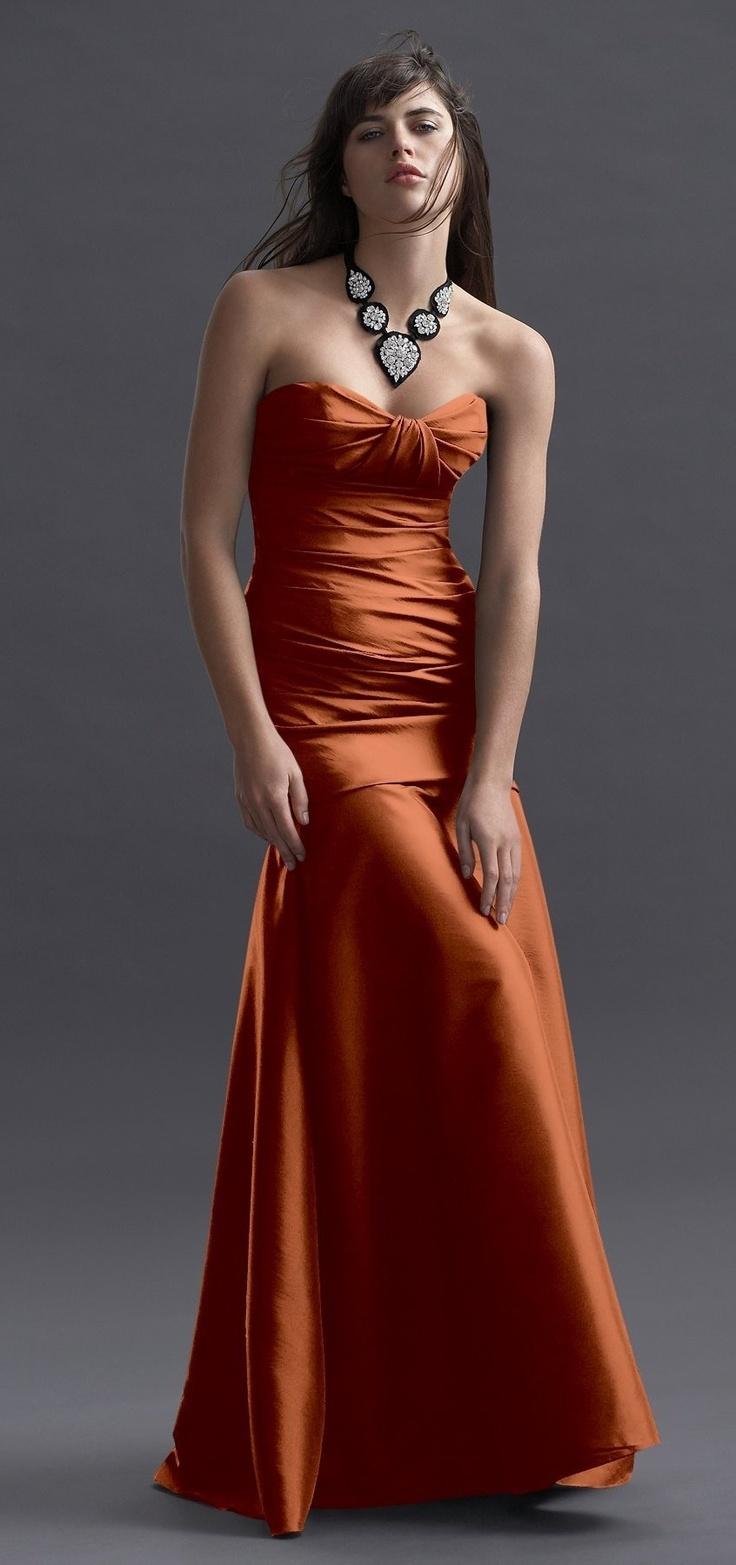 Copper bridesmaid dresses hakknda pinterestteki en iyi 20 fikir copper wedding dress bing images ombrellifo Choice Image