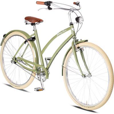 Rower Miejski Damski Cruiser Johnny Loco. Niebanalne siodełko i piękny limonkowy kolor sprawiają, że jest to jeden z najładniejszych rowerów w swojej klasie. http://damelo.pl/damskie-rowery-miejskie-cruiser/430-rower.html