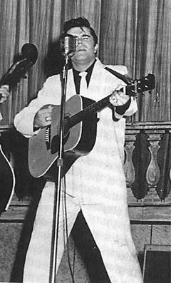 Warren Smith (February 7, 1932 – January 30, 1980) was a rockabilly and country music singer and guitarist. On SUN records he had several hits includeing Ubangi Stomp and So Long I'm Gone written by Roy Orbison. Other than Elvis, one of the better looking Sun stars.