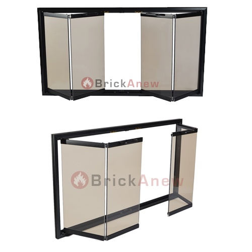Superior Fireplace Doors The Boardwalk with Free Shipping - 17 Best Images About Fireplace Screens On Pinterest Hearth
