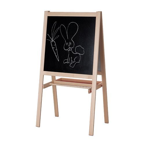 What can I say, I'm an Ikea-lover!  This is a fantastic deal and it even holds a roll of kraft paper (sold at Ikea) for paper drawings.