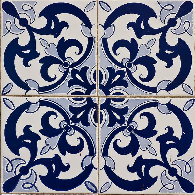 Chap 11 - Azulejos: earthenware tiles that were imported to Spain by the Moors, used on walls and interior surfaces  Azulejos Portugueses
