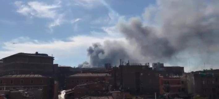 Ισχυρή έκρηξη στη Ρώμη -Δίπλα στο Βατικανό