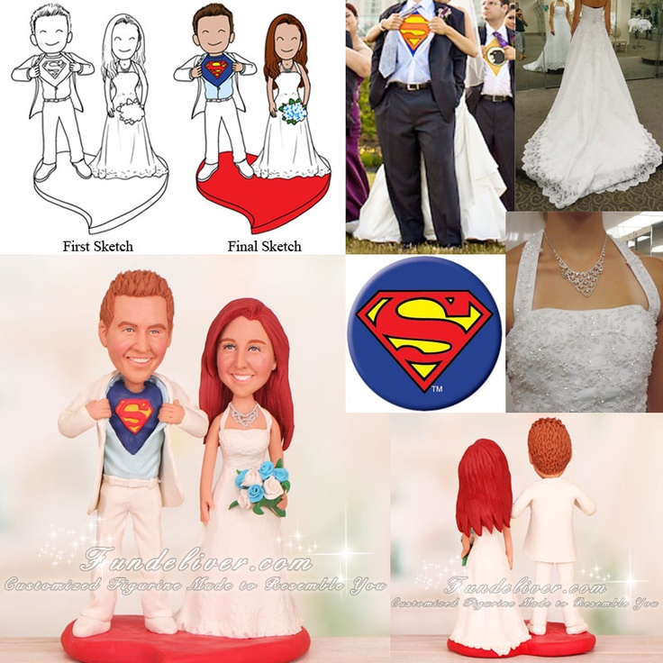 1000 Images About Theme Wedding Cake Toppers On Pinterest