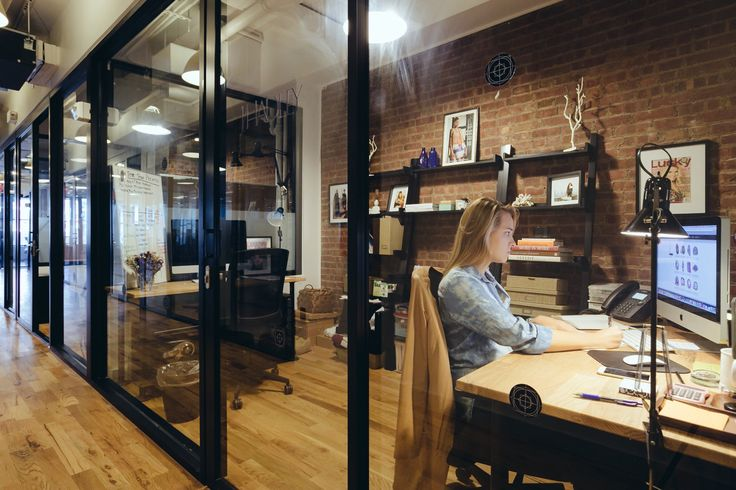 Wework open workspace west broadway 72 coworking and for Shared office space design