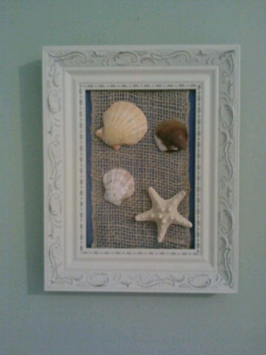 This is a great idea of what to do with all the shells you  find in Myrtle Beach, SC :)