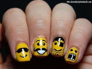 okay, I'm usually not into the nail art thing, but these are too awesome not to repin!
