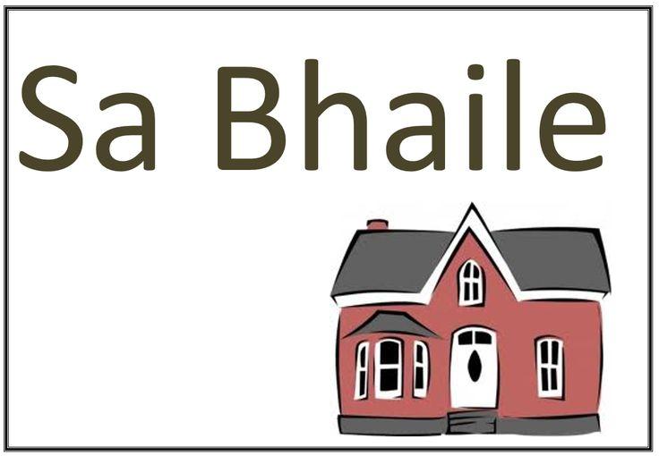 Gaeilge signs