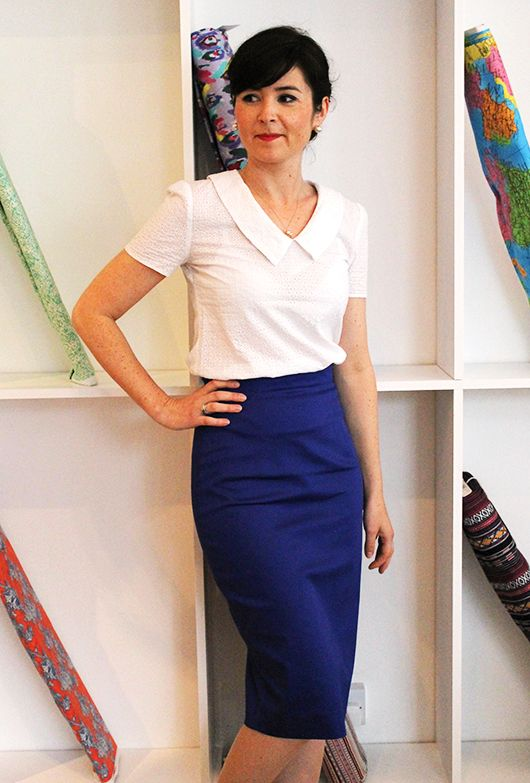 Make yourself the perfect summer pencil skirt with the Ultimate Pencil Skirt from Sew Over It. Get it here: http://shop.sewoverit.co.uk/products/pencil-skirt-kit