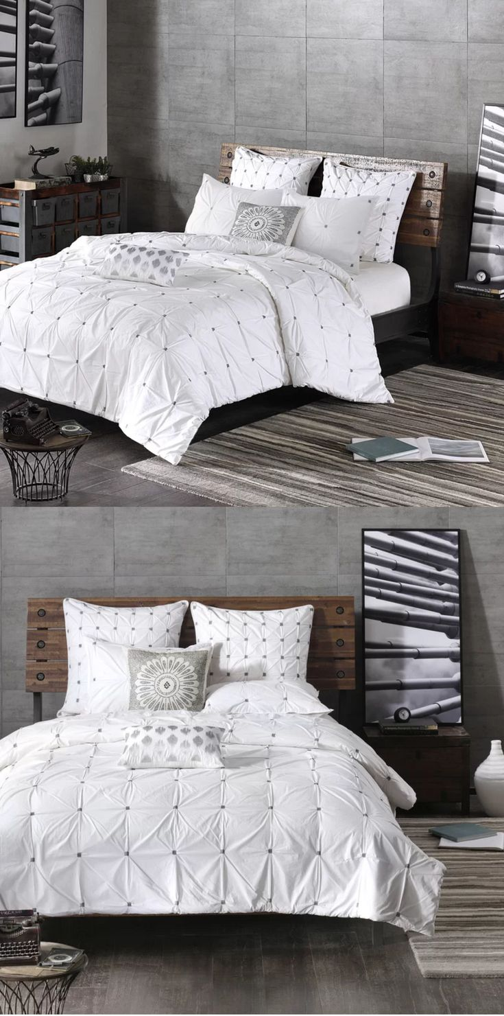 Beautiful Masie 3 Piece Duvet Cover Set. Love it! NNT #duvet #ad #Home #homedecoration #homesweethome #giftideas #GIFTIDEA #gift #christmasgifts #homedecor #homedesign #homedecorideas #bedroom #bedroomdecor #bedroomideas #bedroomdesign duvet cover set | duvet cover sets king | duvet cover set bohemian | duvet cover sets queens | duvet cover sets gray | Duvet Cover Sets | Duvet Cover Sets | Duvet Cover set |