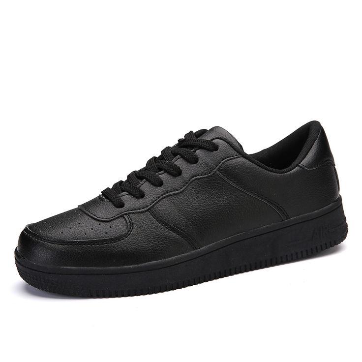 Новейшие Классический Все Белый Мужская Повседневная Обувь Высокие Верхние Мужчины Женщины Дышащие Обувь Для Ходьбы Плюс Размер Уличной Обуви 35-44
