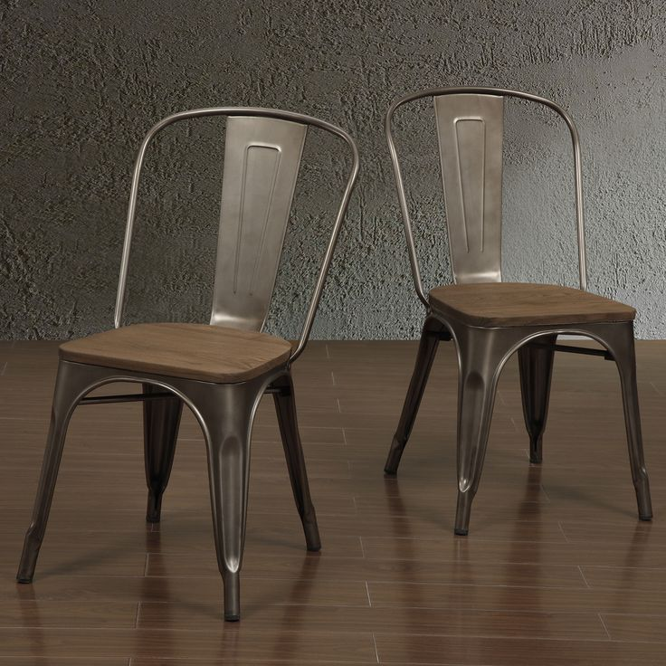 industrial chic in this tabouret bistro side chairs the sturdy metal