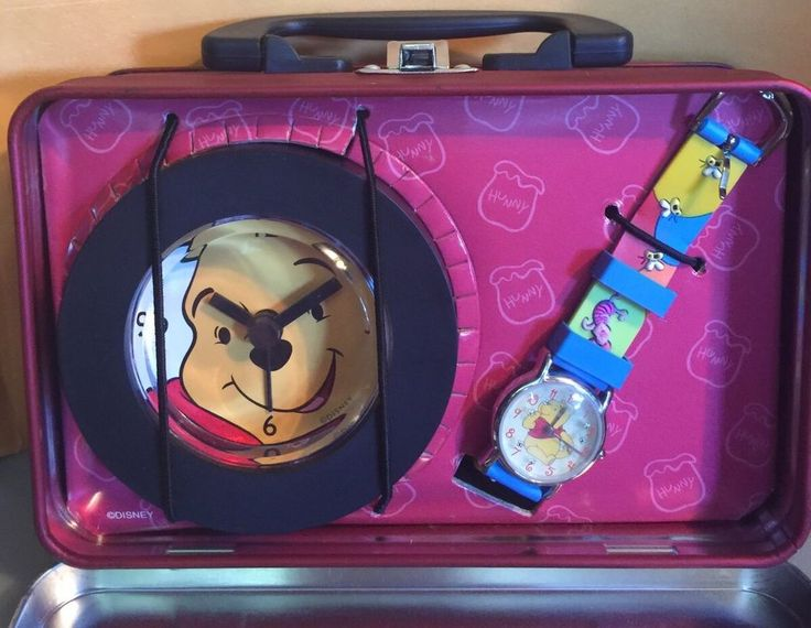Disney Winnie The Pooh Alarm Clock And Watch Gift Set Great 4 Christmas | Collectibles, Disneyana, Contemporary (1968-Now) | eBay!