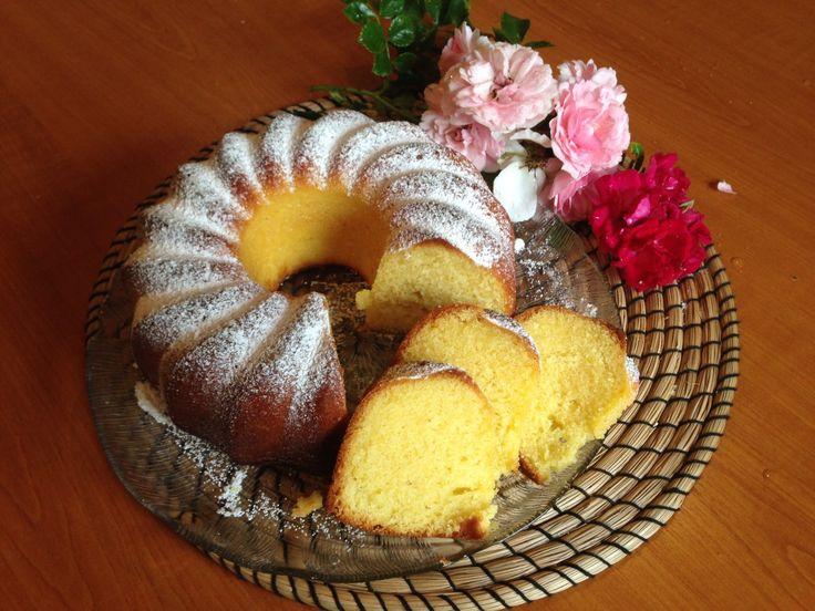 Zitronentopfkuchen, schnell gebacken und wunderbar saftig und locker #kuchen…