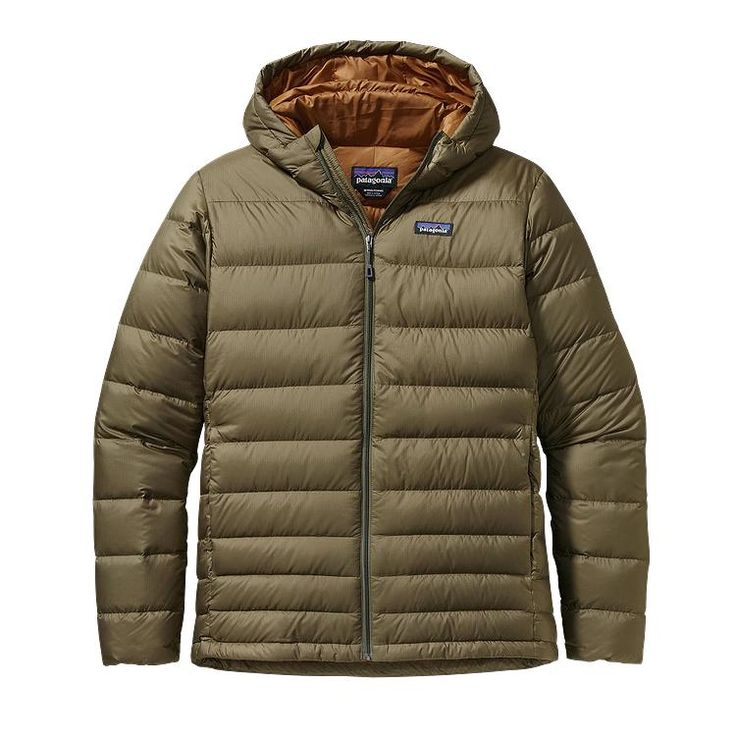 Patagonia men's down sweater jacket forge grey large
