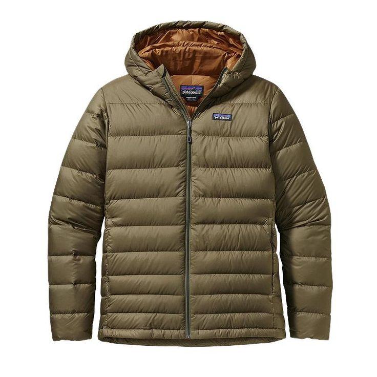 Patagonia Men\'s Hi-Loft Down Sweater Hoody - Fatigue Green FTGN
