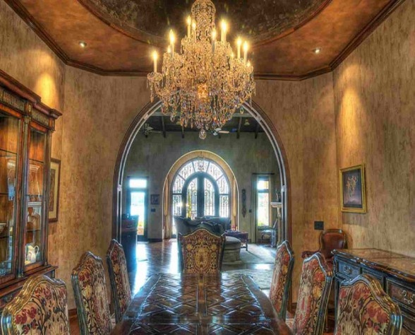 Tips Tuscan interior decorating your dining room: Interior Design, Chandelier, Tuscan Dining Rooms, Design Ideas, Dream, Interiors, Dinning Room, Dining Room Design, Formal Dining