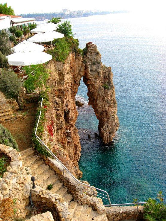 Antalya - a cute city on the Mediterranean coast of southwestern Turkey