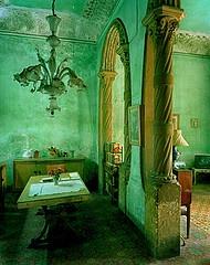 dazzling emerald decor.