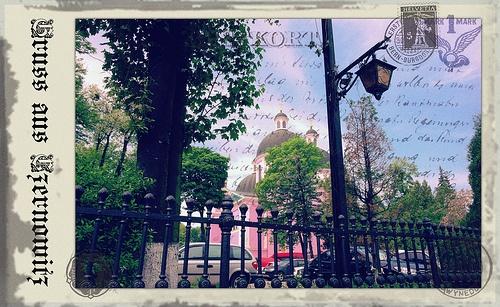 Greetings from Chernivtsi IX (Postcard Imitated)