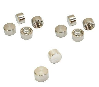 Stainless Steel T316 Cable Railing Rh 1 4 20 Thread Flat Dome Cap Nut Marine Cable Railing Railing Steel