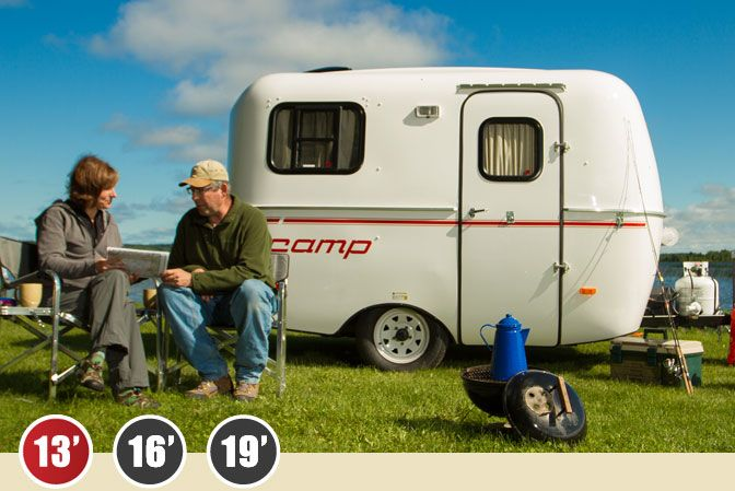 Scamp 13 39 trailer deluxe floor plan with front dinette for 13 floor trailer