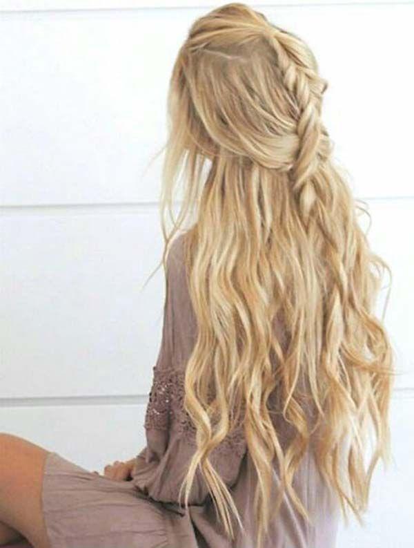 5 Ideen über langes Abschlussball-Haar | Einfache Frisuren für den Abschlussball zum Ausprobieren | #Einfach #Haar #Frisuren #Ideen #Lang