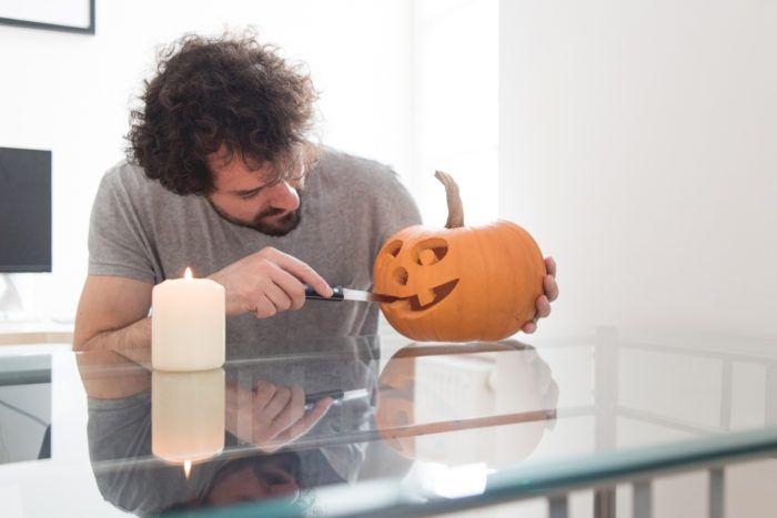 Pumpkin carving ideas for Halloween.