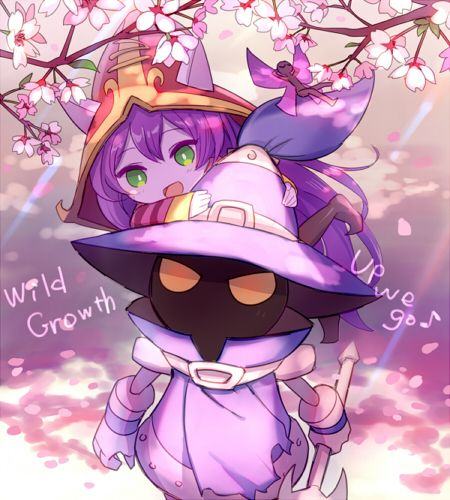 Lulu and Veigar #Sakura