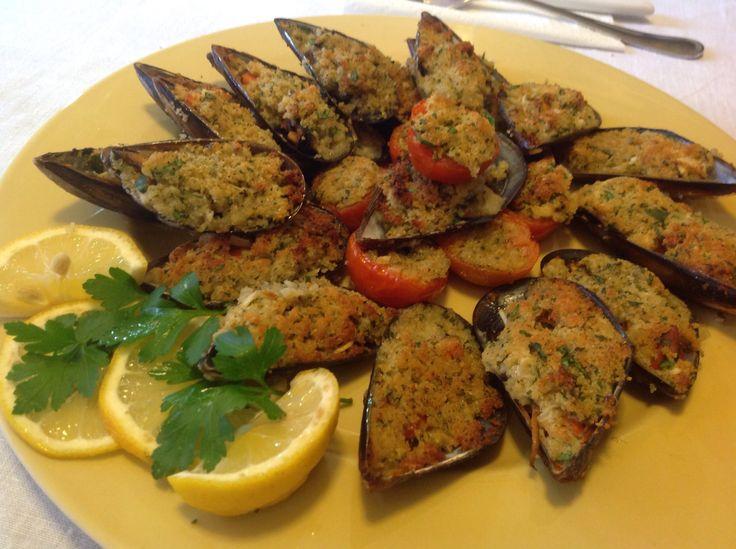 Cozze Gratinate chef Stefano Barbato