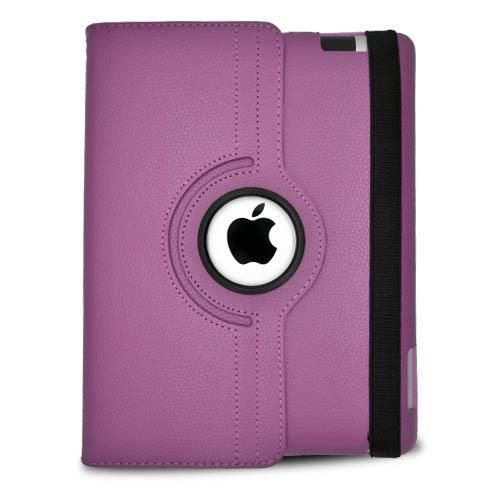 Be in style w/ the Purple Rotating Leather Interior Pouch Case Cover! Acetag.com has various iPad cases & Tablet accessories to select from! Order Tablet cases now w/ Free Shipping in the... More Details