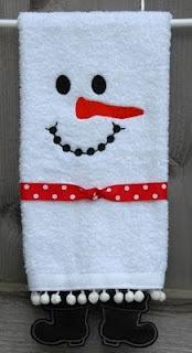 Fun Holiday Towels