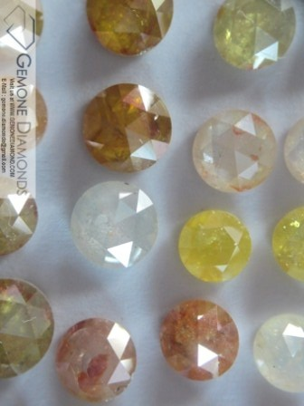 Product- Natural fancy color diamonds Size -  0.01 carat to 0.12 carat per piece Color-   Purple, Chocolate, yellow, blue, green, purple, orange etc   Clarity - SI1 to I3 Shape- Round Brilliant Cut Cut - XXX , very good, good Stone - non Certified. Treatment: Heat Price: USD280 to USD 800  ANY SIZE, COLOR, CLARITY,SHAPE REQUIREMENT FOR OUR DIAMONDS AND OTHER PRODUCTS ARE MOST WELCOMED