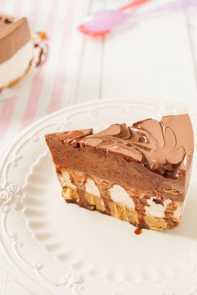 The Sweetest Taste: Tarta de queso, yogur y chocolate