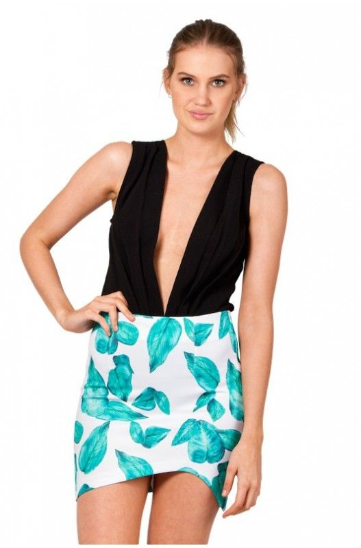 Green With Envy Skirt- Shop Now Only at- A$42.95.