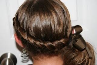 Wrap-Around French BraidBraids Hairstyles, Hair Ideas, French Braids, Wraps Around French, Cute Girls Hairstyles, Girl Hairstyles, Side Ponytail, Hair Style, Side Braids